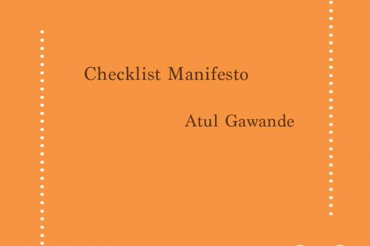 Checklist Manifesto – Atul Gawande