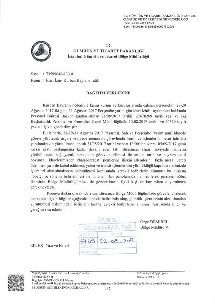 Bayram Izni Mesaili Calisma Hakkinda1